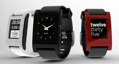 Pebble: SmartWatch för iPhone & Android som lanserats tack vare crowdsourcing
