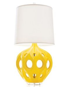 Loved these yellow Truffault lamps ever since I saw them on the Rachel Zoe Poject! As far as I know they are not for sale in the UK