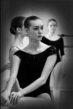 """""""Vaganova Ballet Academy by Stanislav Belyaevsky."""" Think it's a young Olga…"""