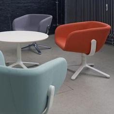 Scoop loungestol, KiBiSi, Scoop loungestol i farver