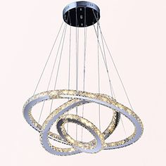 VALLKIN LED Crystal Ceiling Pendant Fixtures with 3 Rings DIY Styling Ac 100 to 240v LED Warm White Source Modern Crystal Chandeliers Lighting Lamps for Hotel Bedroom Dining Room VALLKIN http://www.amazon.com/dp/B00YGFPGI6/ref=cm_sw_r_pi_dp_8KNdxb1QNG2A4