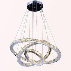 Crystal Elipse Ring Chandelier Led Chandeliers Modern ...