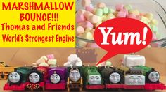 Thomas and Friends Marshmallow Bounce!!! World's Strongest Engine