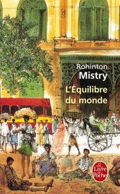 Équilibre du monde (L') - Rohinton Mistry Indian Literature, Roman, Fiction, Books, Painting, Veuve, Souffle, Voici, Turtles