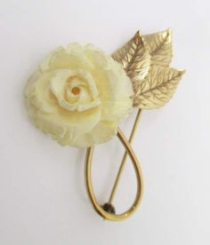 shopgoodwill.com: 024 Beautiful Vintage `Winard` 12K G.F. Brooch