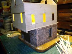 STAINING PLASTER WALLS - Weathering and Detailing Models - Model Railroad Forums - Freerails