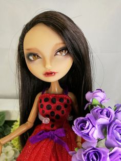 the red hat riding hood OOAK Monster High by NeverBoringAdults