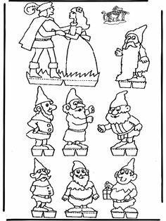 sneeuwwitje en de 7 dwergen