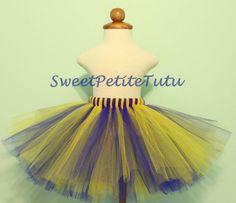 Royal Blue and Yellow Tutu Blue and Yellow tutu by SweetPetiteTutu