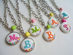my work Washer Necklace, Pendant Necklace, Monograms, Jewelery, My Style, Crafts, Jewelry, Jewels, Manualidades