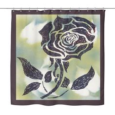 #5 American Beauty Rose Shower Curtain