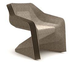 Tara Britton Chair: Hemp Moulded Chair- A Great Plastic Alternative