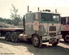 C & H Transportation Co. Marmon cabover. Cold & Hungry!