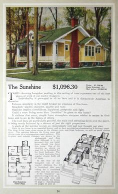 Aladdin Homes, 1917.  From the Association for Preservation Technology (APT) - Building Technology Heritage Library, an online archive of period architectural trade catalogs. It contains hundreds of old house plan catalogs. Select your era and flip through the pages.