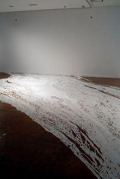 Motoi Yamamoto's Salt Installations