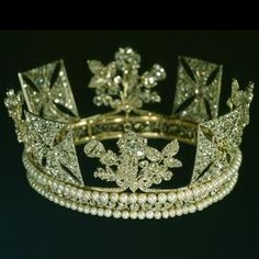 Diamond diadem made for King George IV