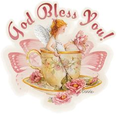 God Bless You friendship religious bible prayer pray friend blessing fairy greeting
