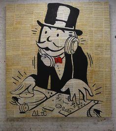 """""""Alec Pass Go"""" by Alec Monopoly"""
