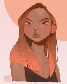 Another evening sketch on the iPad! Swipe to see the process video ➡️ drawing this made me wanna dye my hair pink, should I do it? Art And Illustration, Character Illustration, Kunst Inspo, Art Inspo, Character Design References, Character Art, Art Sketches, Art Drawings, Pink Drawing
