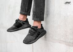 factory price 6401e 007b3 adidas EQT Support 9317 Triple Black