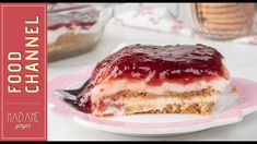 Γλυκό ψυγείου με μπισκότα και γιαούρτι Greek Desserts, Greek Recipes, No Bake Desserts, Dessert Recipes, Cake Mix Cookie Recipes, Cake Mix Cookies, Greek Pastries, Greece Food, Butter Salmon