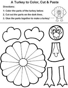 thanksgiving printables - color-by-number | thanksgiving kids ... - November Coloring Pages Printable