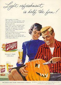 Schlitz, 1956 #beer #halloween