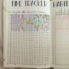 My favorite page for the month of June  #bulletjournal #leuchtturm1917 #bulletjournaljunkies #bulletjournallove #bujo #timetracker #habittracker
