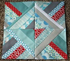 Sew Modern Bee - October Tutorial String Blocks by Kristy Mohan on 107 Quilts at http://www.107quilts.com/2011/09/sew-modern-bee-october-tutorial-string.html
