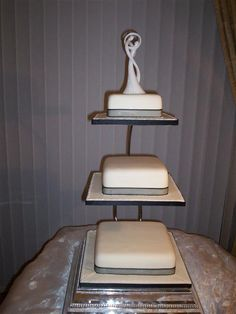 square tiered wedding cake stands 3 tiered square cake stands cake n more 3 tier cake 20377