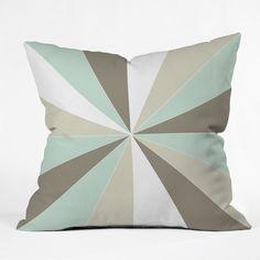Caroline Okun Champagne Throw Pillow | DENY Designs Home Accessories