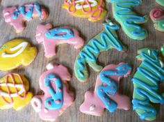 Easter Sugar Cookies W/Icing that Hardens