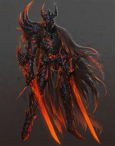Foto Fantasy, Fantasy Kunst, Dark Fantasy Art, Fantasy Armor, Medieval Fantasy, Dark Knight, Evil Knight, Fantasy Character Design, Character Art
