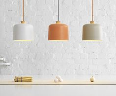 Fuse pendant lamp by Note Design Studio for Ex.t  Voor boven de tafel?