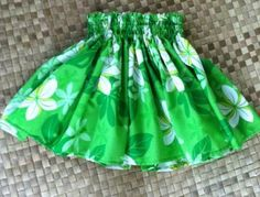 Girl's hula skirt (pa'u) by Kiihele for $20.00