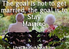 How to Stay Married Even When You Are Thinking About Giving Up | Live Like You Are Rich
