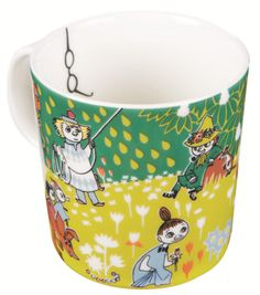 Moomin Mug With Glasses Tove Jansson 100 Years Anniversary Celebration Moomin Mugs, Tove Jansson, Glass Tea Cups, Happy Birthday, Miffy, Dinner Sets, Scandinavian Style, Finland, Anniversary