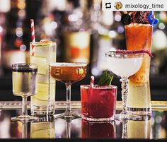 from - When your drinks look this pretty its hard to choose just one. So why not have a couple? Monday just got a lot better. Tequila, Vodka, Alcoholic Drinks, Cocktails, Whisky, Gin, Life Is Good, Mixology Bar, Bartender