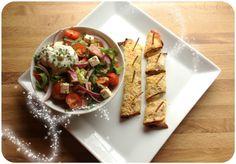Skinkesalat med gratinert speltlomewraps. (Linda Stuhaug) Healthy Lifestyle, Dairy, Lunch, Cheese, Food, Blogging, Lunches, Meals, Yemek