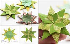 Origami Maniacs: Star Corona by Maria Sinayskaya
