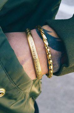 original-mens-gold-bracelet-designs mens jewelry 40 Original Men's Gold Bracelet Designs
