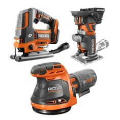 RIDGID R8404431SBN 18-Volt Cordless 3-Tool Combo Kit $199 (23% off) @ Home Depot Jig Saw Blades, Router Jig, Cordless Tools, Tools Hardware, Home Tools, Electronic Recycling, Recycling Programs, Impact Driver, Going Home
