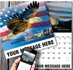 2021 Promotional Wall Calendars low as - America the Beautiful wall calendar with your Business Name, Logo & Ad Message in the homes and offices of people in your area! Calendar Themes, Calendar App, Print Calendar, Canadian Holidays, Us Holidays, Date Squares, Business Calendar, Wall Calendars, Sea To Shining Sea