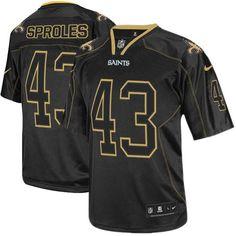Shop for Official NFL Mens Elite Nike New Orleans Saints  43 Darren Sproles  Lights Out 5f6924f48