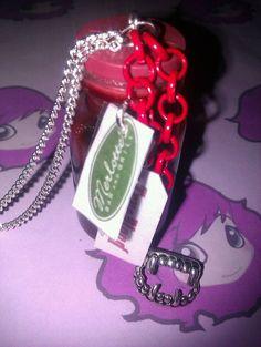 True Blood  Vial  Pendant by PinkysJewellery on Etsy, $5.00