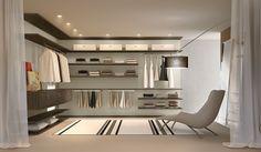 Planejando o mobiliário de seu closet.