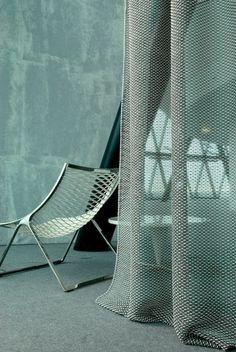 Interior fabrics by Marty Lamers for JAB ANSTOETZ, 2007: 'Fluff'.