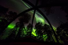 #AuroraBubble #NorthernLights #Finland
