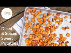 How to Medium Dice a Sweet Potato in No Time at All with Blue Apron - YouTube