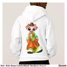 Ned - Kids' Hanes ComfortBlend® Hoodie